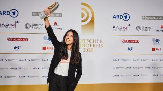 Sandra Gern (Bild: ©Deutscher Radiopreis)