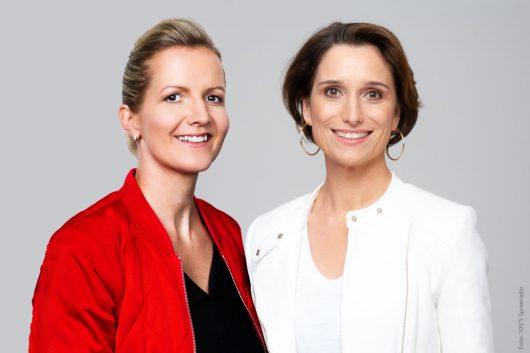 Yvonne Fricke und Nicole von Wagner (Bild: 105'5 Spreeradio)