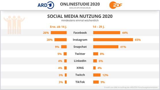Social Media Online-Studie 2020
