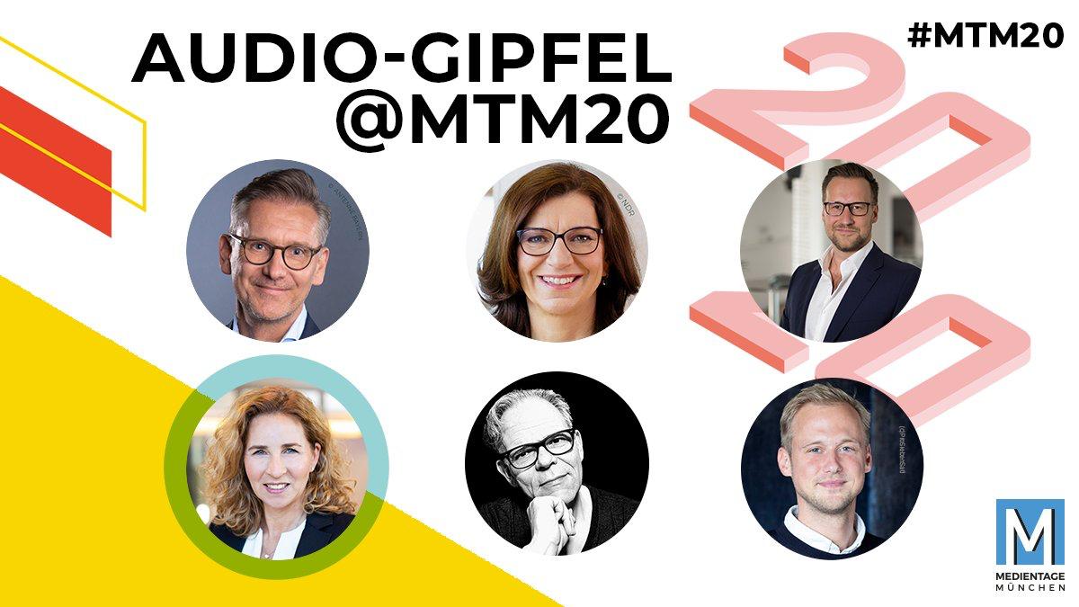 Audio-Gipfel auf den Medientagen München #MTM20