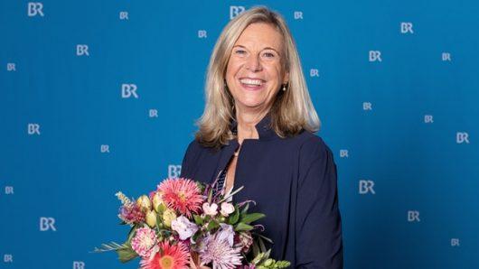Dr. Katja Wildermuth nach der Wahl zur BR-Intendantin (Bild: ©BR/Markus Konvalin)