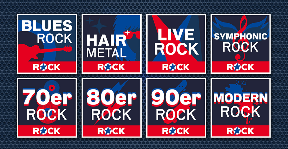 ROCK ANTENNE startet acht neue Webstreams