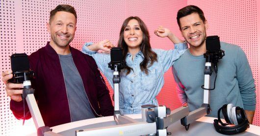 Florian, Vanessa und Simon moderien bei TOGGO Radio