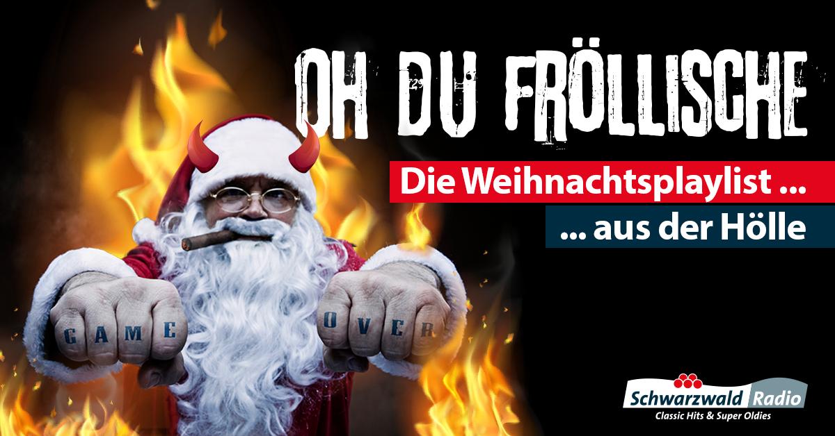 """Funkhaus Ortenau startet bundesweit erste """"Weihnachtsplaylist aus der Hölle"""""""
