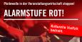 #AlarmstufeRot: Aktion Sendepause im Radio um 8:15 Uhr