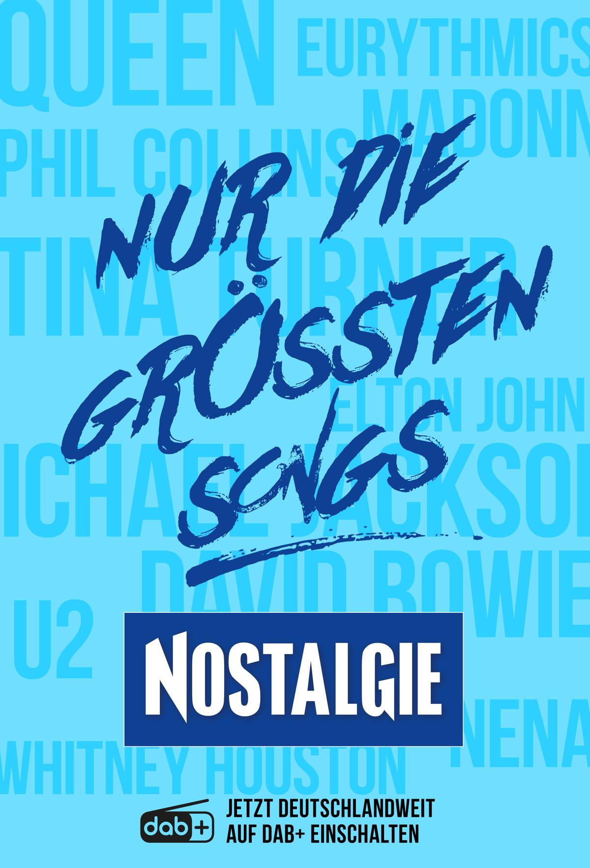 NOSTALGIE – Nur die größten Songs