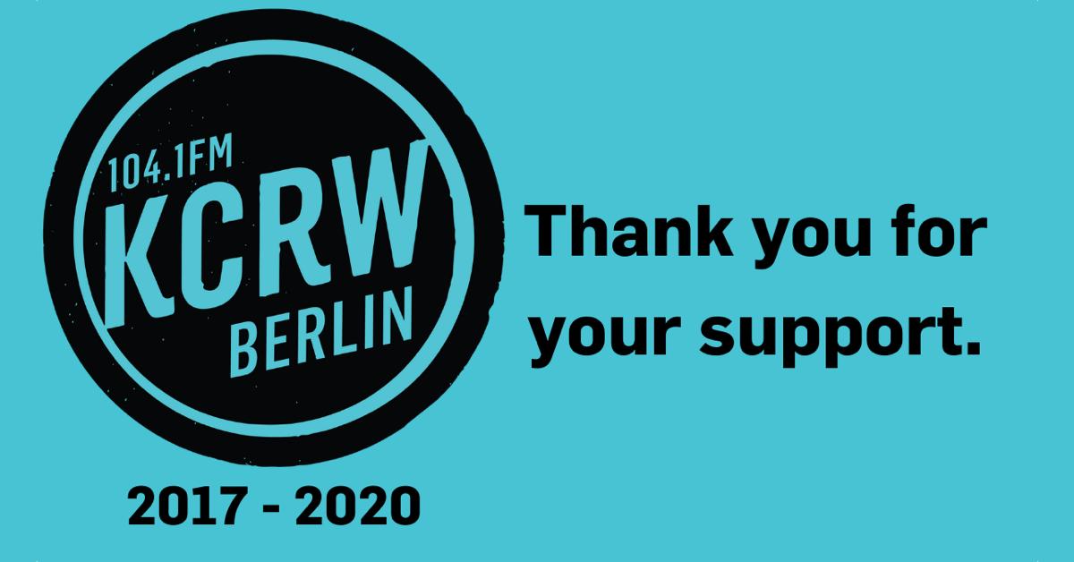 104,1 MHz KCRW 2017-2020