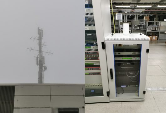 Antennen und Sender für Radio 21 (Bild: ©Milling Broadcast Services)