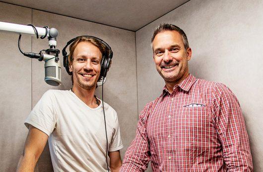 Thomas Hobi und Alex Tobisch (Bild: ©driftfm)