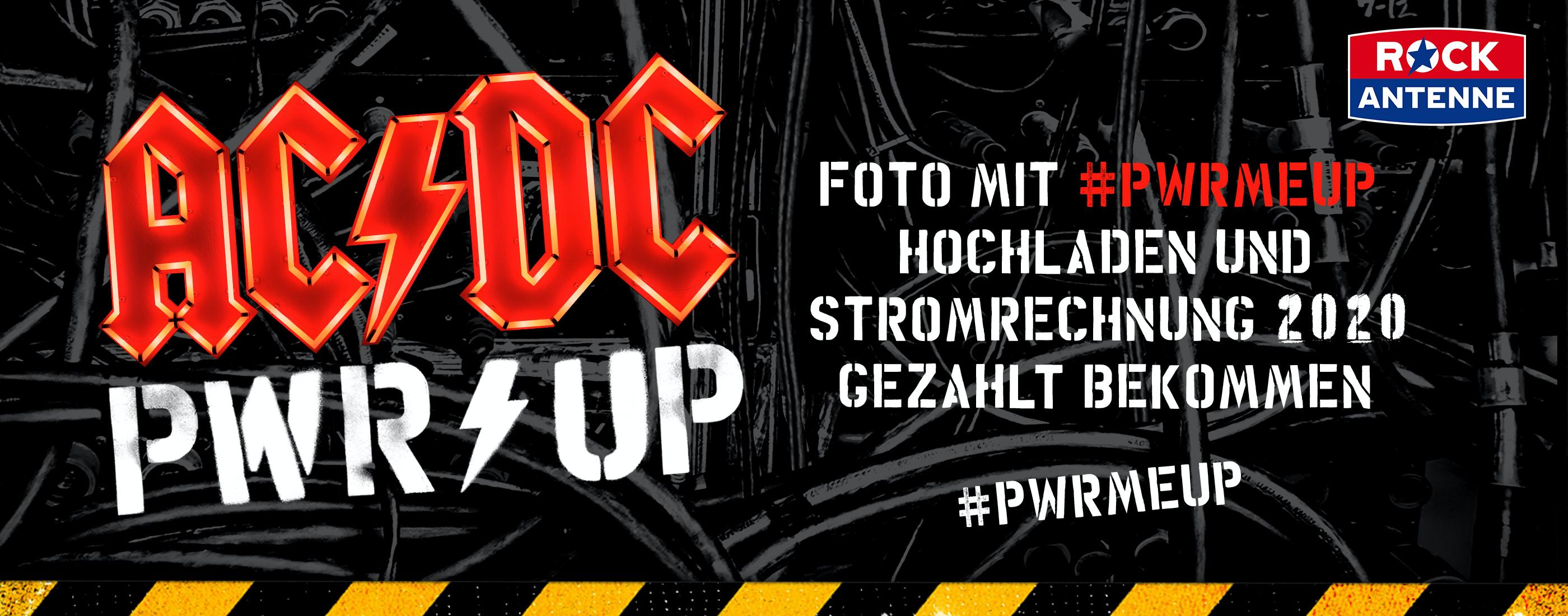 Aktionswebseite www.pwrmeup.de