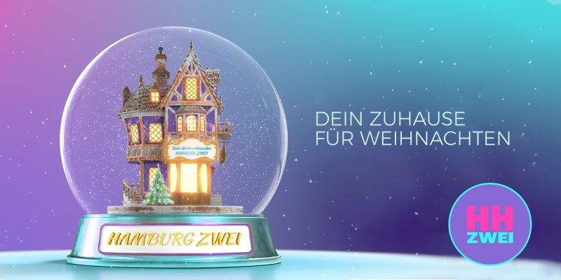 HAMBURG ZWEI spielt ab Montag durchgehend Weihnachtshits (Bild: HAMBURG ZWEI)