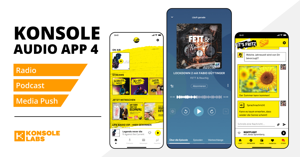 Konsole Audio App 4