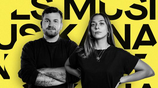 Fridl Achten und Tamara Güclü von PULS Musikanalyse - Der Podcast (Bild: ©BR)