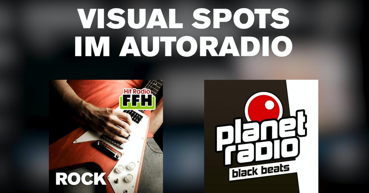 Visual Spots im Autoradio via DAB+