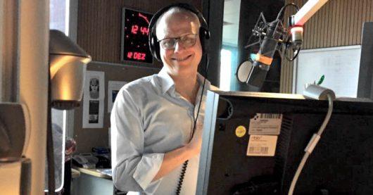 Panne während der radioeins-Sendung mit Volker Wieprecht (Bild: ©radioeins/Krüger)