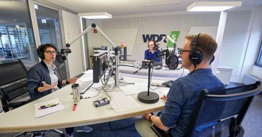 WDR 5 Polit-WG mit Max von Malotki (Bild: ©WDR/Claus Langer)
