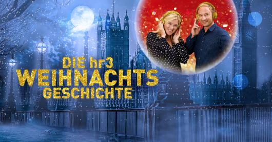 Die hr3-Weihnachtsgeschichte (Bild © hr/Imago Images/Klaus Sahm, picture-alliance/dpa/Adobe Stock/hr3)