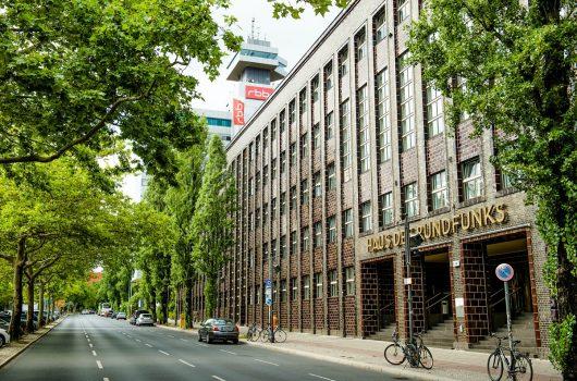 Haus des Rundfunks (HdR) in Berlin (Bild: © rbb/Gundula Krause)