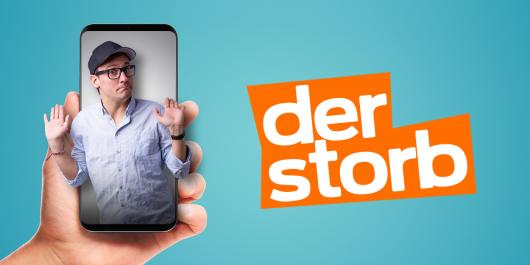 """Comedian """"Der Storb"""" (Bild: ©104.6 RTL)"""