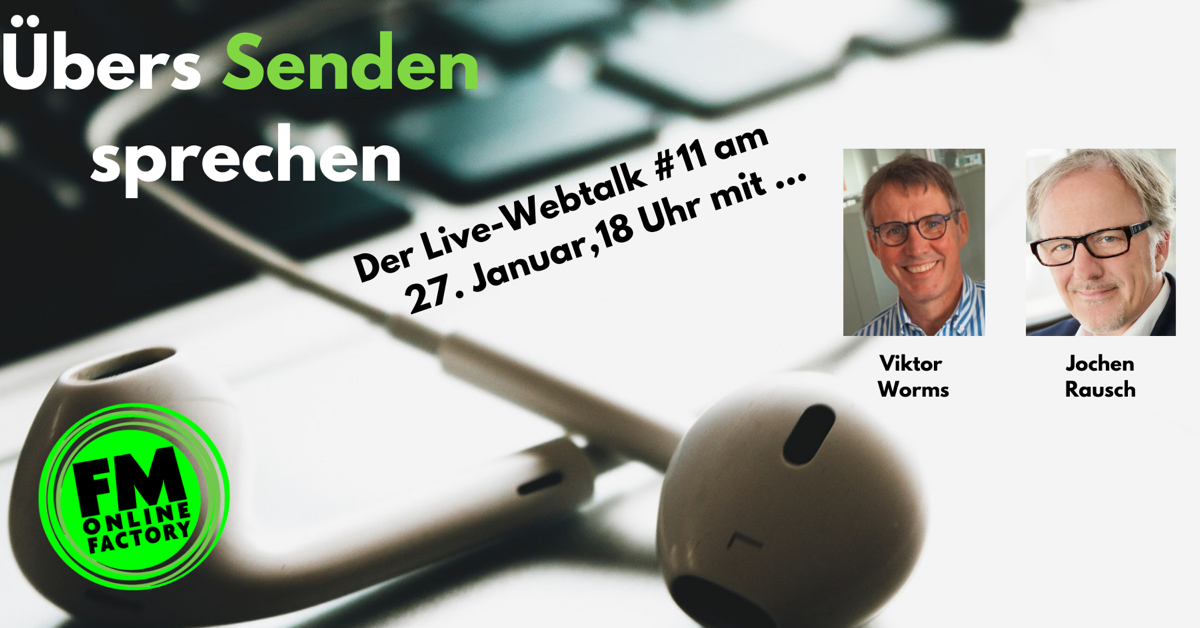 Jochen Rausch im Live-Webtalk am 27. Januar: Das Formatradio hat fertig und jetzt?