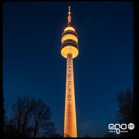 #lichtblick2021 am Olympiaturm (Bild: ©egoFM/genelabo)