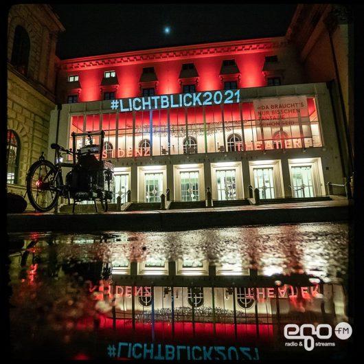 #lichtblick2021 am Residenztheater (Bild: ©egoFM/genelabo)