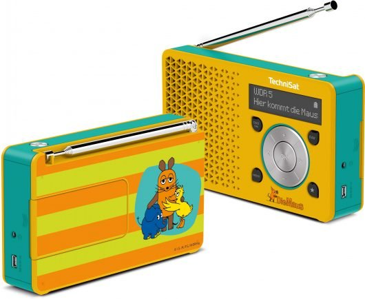 Das Technisat Digitradio1 im Mausdesign