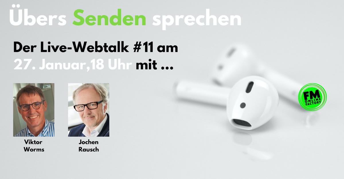 """Jochen Rausch im Webtalk: """"Braucht es noch das klassische Radio?"""""""