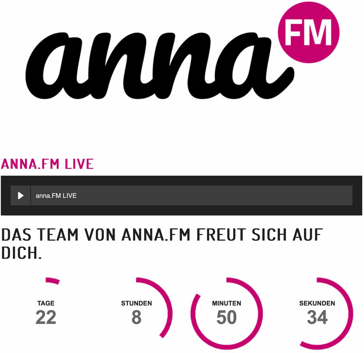 ANNA.FM startet am 1. Februar in Baden-Württemberg auf DAB+