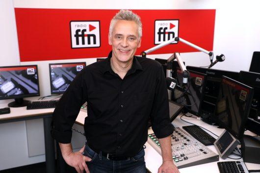 Volker Marczynkowski im ffn-Studio (Bild: ©radio ffn)