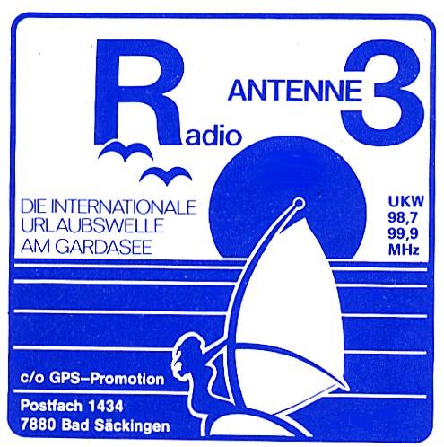 Radio Antenne 3 am Gardasee