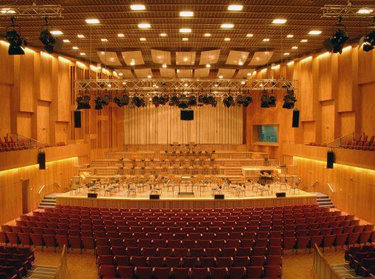 Großer Sendesaal im Haus des Rundfunks (Bild: ©rbb/Hanna Lippmann)