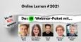 """Perfekte Weiterbildung in Coronazeiten: Webinar-Paket """"online lernen #2021"""""""