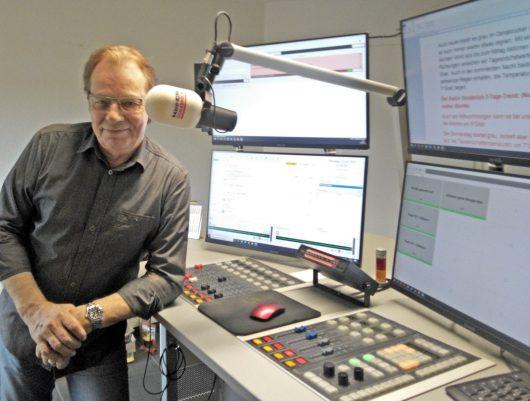 Jürgen Frahne live on air (Bild: ©Jürgen Frahne)