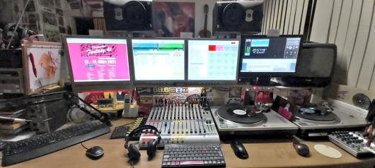 Radio Fantasy-Revival-Studio (Bild: ©Frank Laschet)