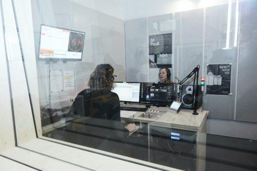 ByteFM-Studio (Bild: ©Dirk Pudwell)