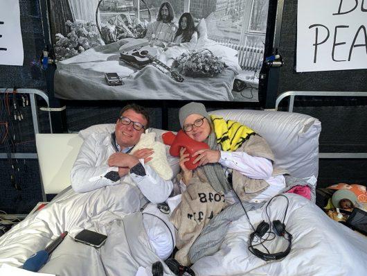 20 Jahre BREMEN EINS-Bed-In (Bild: ©Radio Bremen/Dirk Osmers)