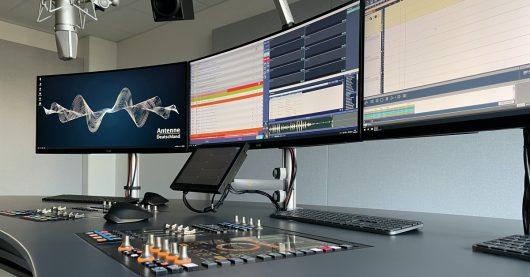 Antenne Deutschland Studio Garching Moderatorendesk