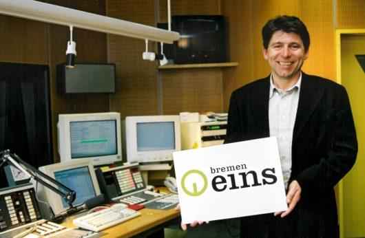 Peter Welfers beim Bremen Eins-Start (Bild: ©Radio Bremen)