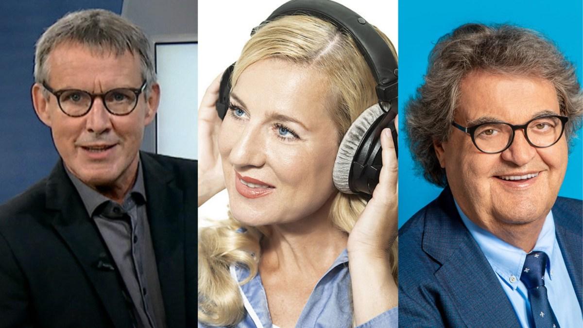 Viktor Worms, Juliane Adam, Helmut Markwort