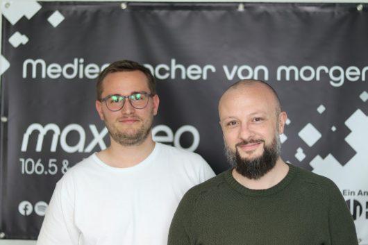 Sven Stefani (Gong 96,3, Ex-Hit Radio N1) und Chris Stegmaier (Ex-Star FM und Ex-98.6 Charivari)