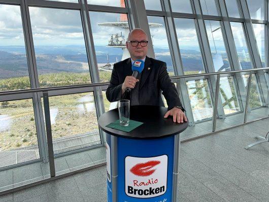 Das Radio Brocken Gipfeltreffen mit Oliver Kirchner (AFD)