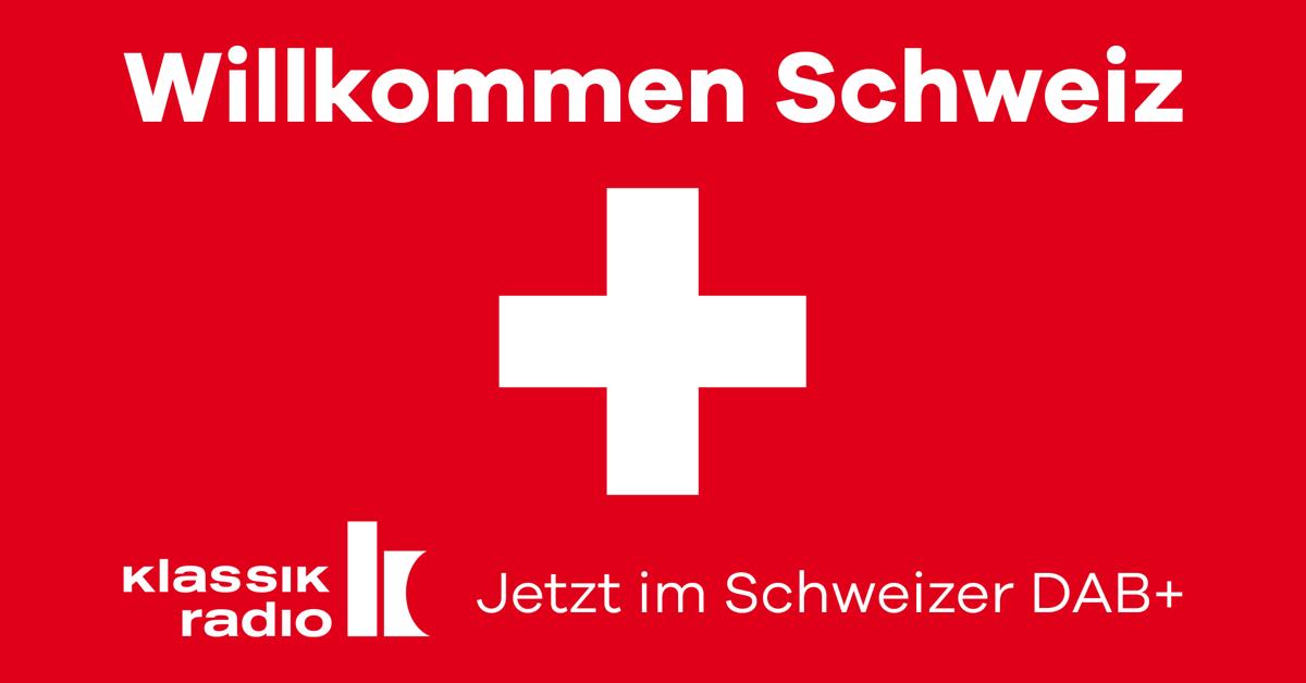 Markteintritt von Klassik Radio in der Schweiz
