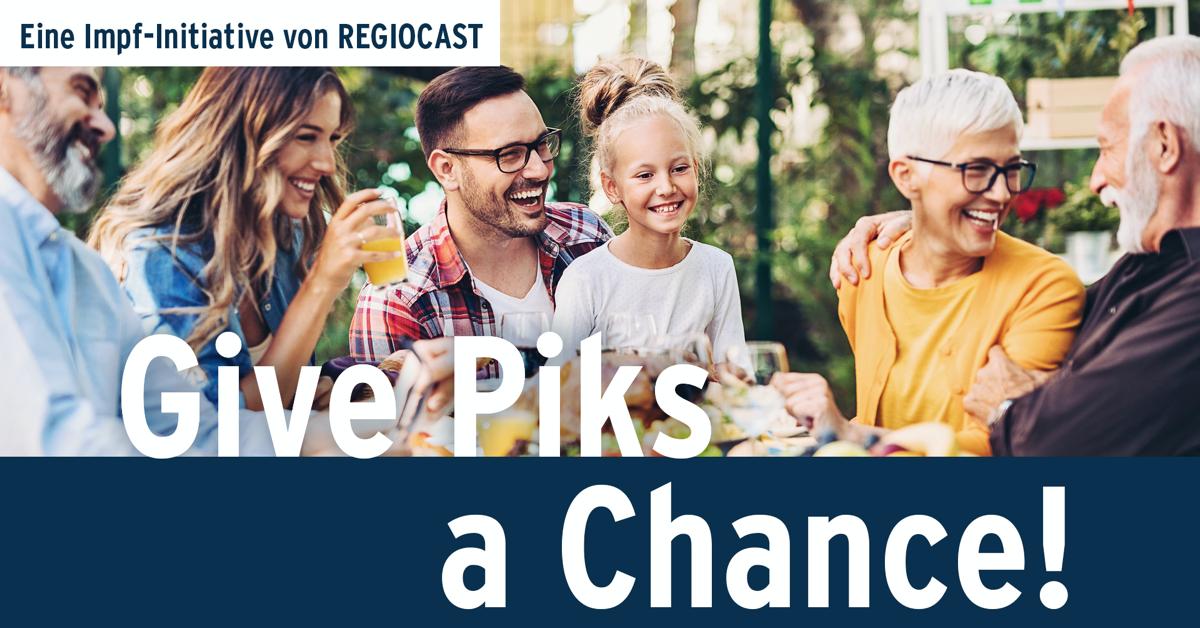 """""""Give Piks a Chance"""" – Eine Impf-Aktivierungsinitiative der REGIOCAST"""