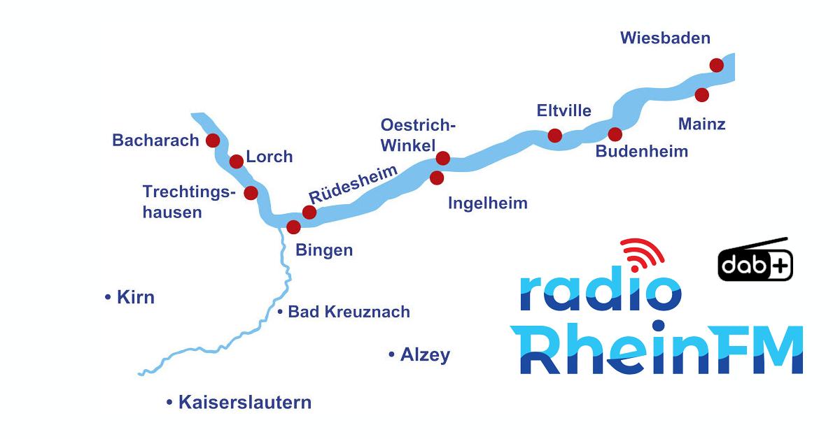 Radio Rhein FM-Sendegebiet