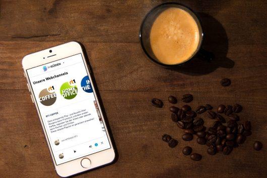 Neue Webchannels: RT1 Homeoffice und RT1 Coffee (Bild: rt1.media group)