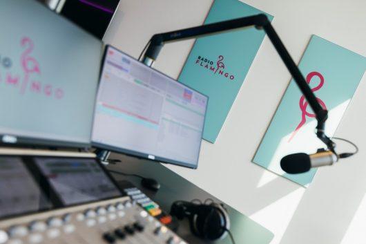 Radio Flamingo-Studio (Bild: ©Marija Kanizaj)