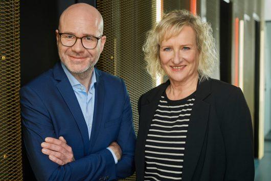 Daniel Bornberg, stellvertretender Leiter und Christiane Hampe, Leiterin REGIOCAST Radioservices   Nachrichten (Bild: Pressefoto)
