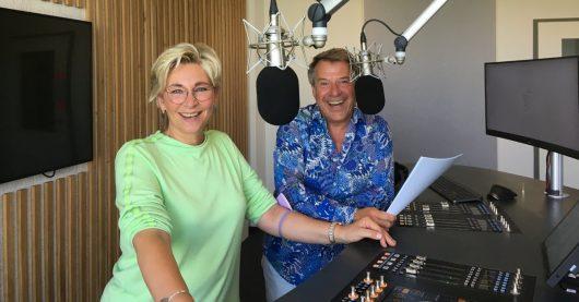 Claudia Jung und Patrick Lindner im Studio (Bild: ©Antenne Deutschland)