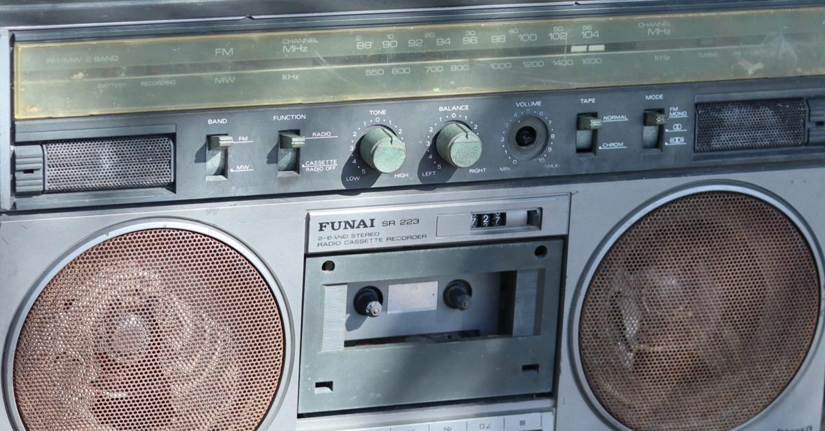 Transistor Radio-Kofferradio-Radiorecorder-70er